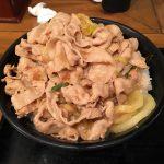 伝説のすた丼が2月9日肉の日、肉50%増量で超絶お得だった!!