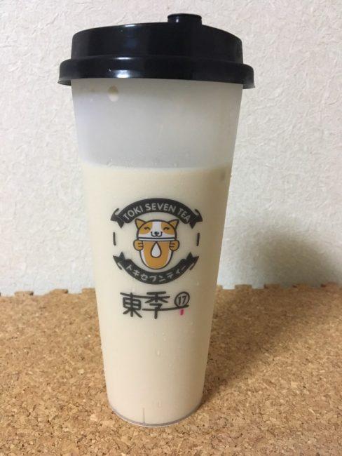 タピオカ専門店「トキセブンティー」のアールグレイミルクティー